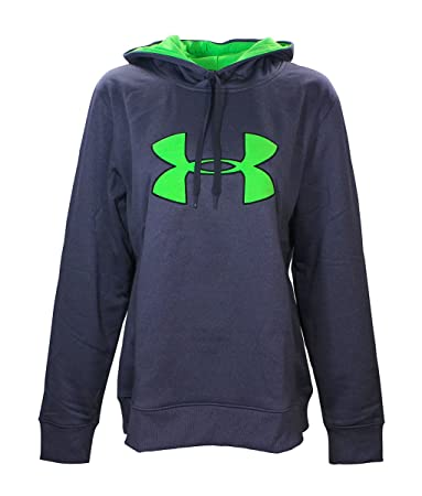 neon green under armour hoodie