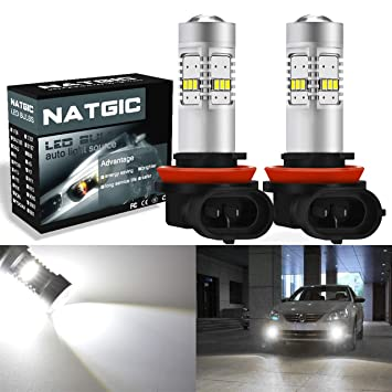 Bombillas LED NGCAT 1800 lúmenes 14 SMD 3020 CREE H11 H8 H9 utilizadas para luces antiniebla