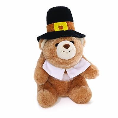 "Gund Lil' Snuffles Pilgrim Bear 5"": Toys & Games"