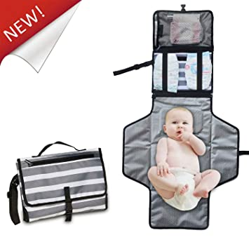 Mother & Kids Good Waterproof Portable Baby Diaper Changing Mat Nappy Changing Pad Travel Table Changing Children Mattress Foldable Diaper Mat