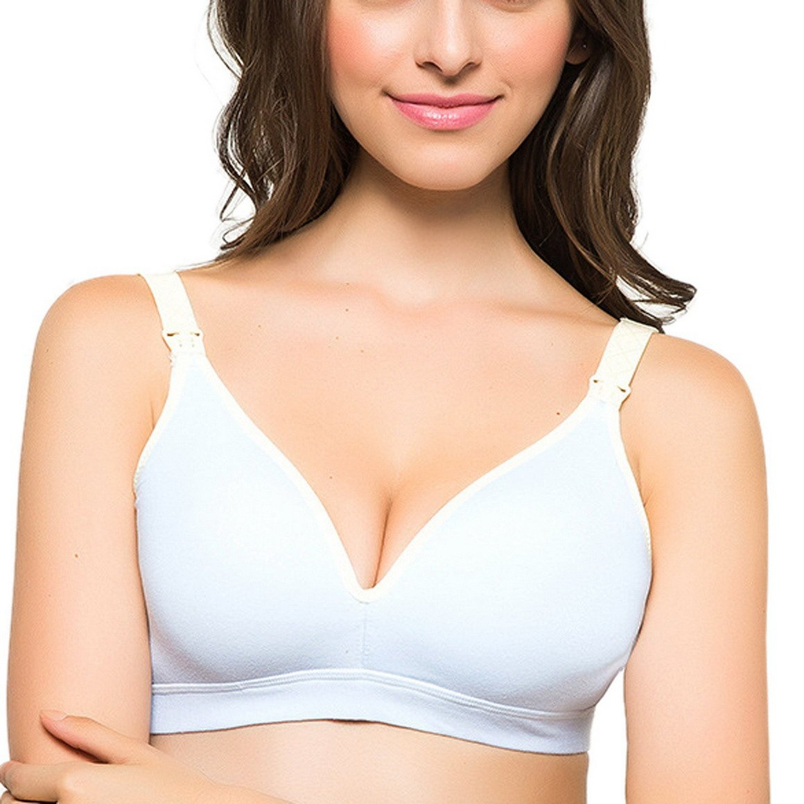 Aivtalk Women's Wirefree Breastfeeding Bra Maternity Nursing Sports Yoga Bra