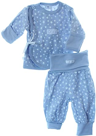 Hemdchen Wickelshirt Babyhemdchen Shirt Fl/ügelhemdchen 56 62 mit Kratzschutz Grau