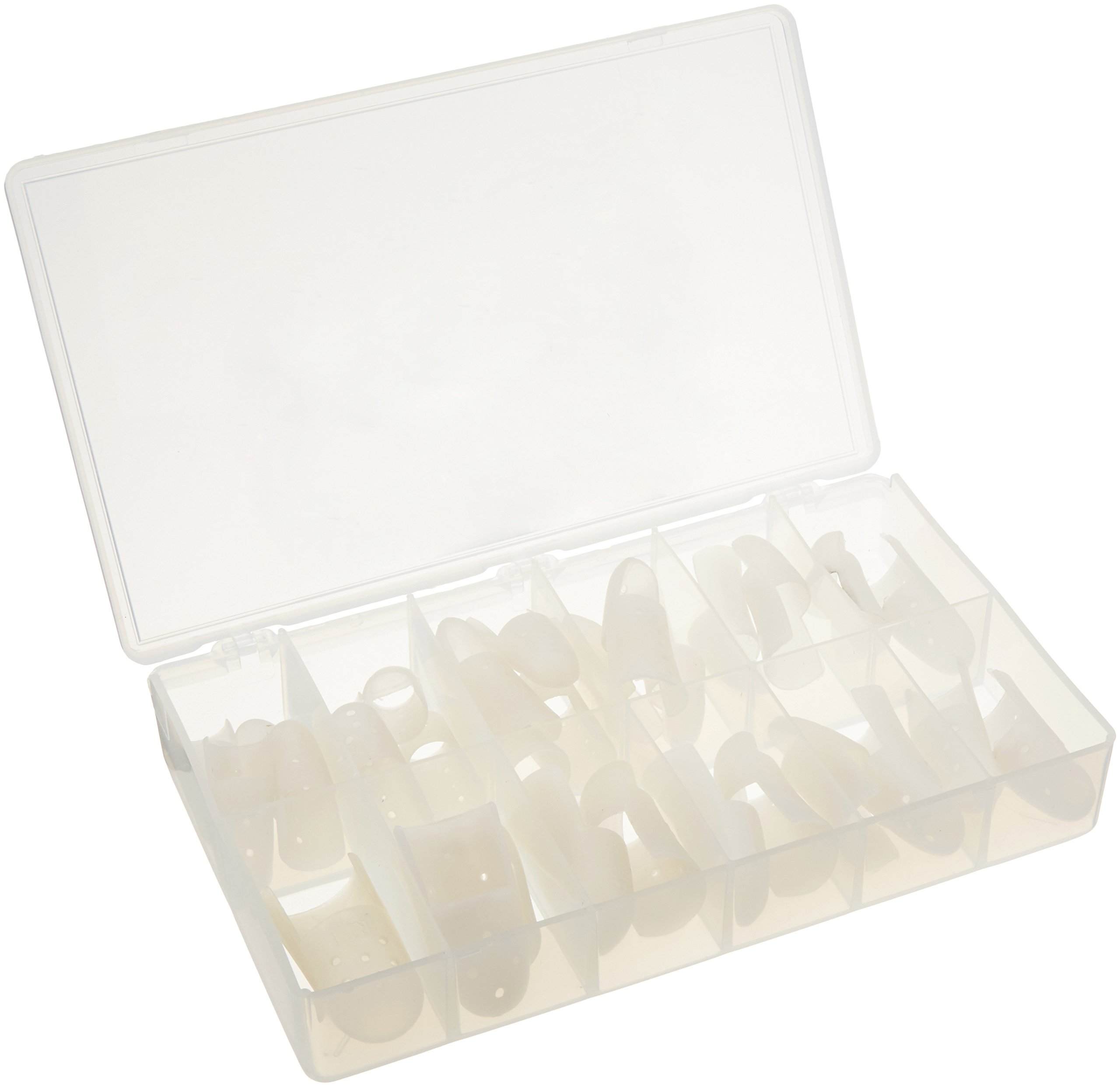 Rolyan STAX Finger Splints, Box of 30 Assorted Sample Sizes by Rolyan