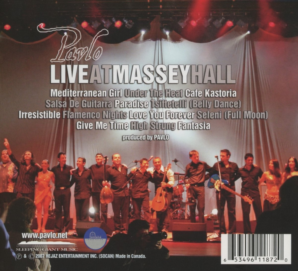 Live at Massey Hall by Linus Entertainment (Image #2)
