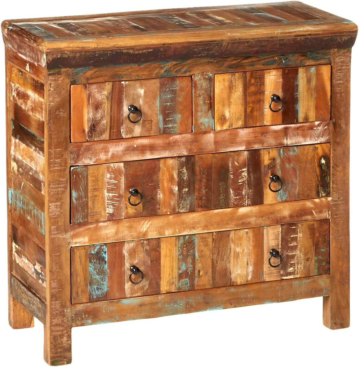 Coaster Home Furnishings Coaster Transitional 4 Drawer Reclaimed Wood Accent Cabinet
