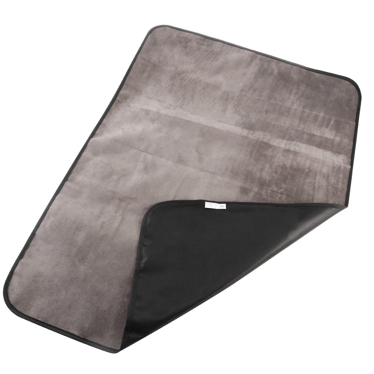 UEETEK Pet Dog Blanket, Waterproof Pet Mat for Dog Cat Indoor Outdoor Lawn Use, with Shoulder Bag, 100cm x 70cm