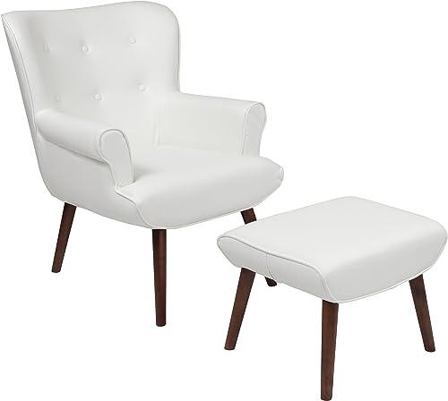 Flash Furniture Bayton Upholstered Wingback Chair