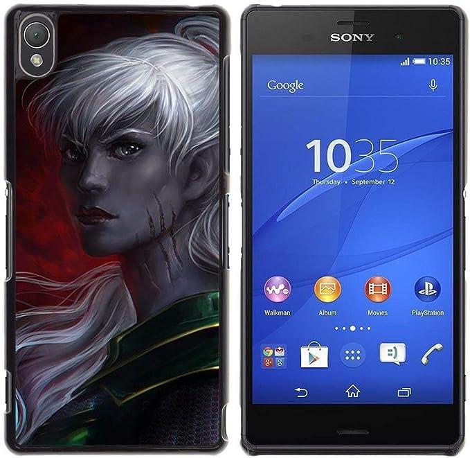 Smartphone duro funda protectora para Sony Xperia Z3/funda TECELL ...