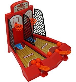 One Or Two Player Desktop Basketball Game Classic Arcade Games Basket Ball  Shootout Table Top Toy