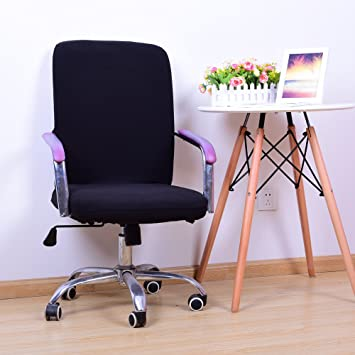 Pleasant Amazon Com Yiwant Stretch Removable Washable Office Chair Machost Co Dining Chair Design Ideas Machostcouk