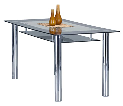Links 50700050 Esstisch Küchentisch Glastisch Esszimmer Tisch