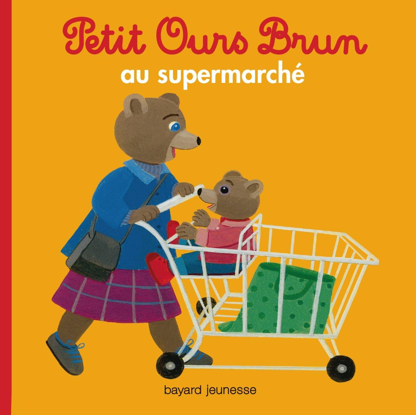Petit Ours Brun: Petit Ours Brun au supermarche