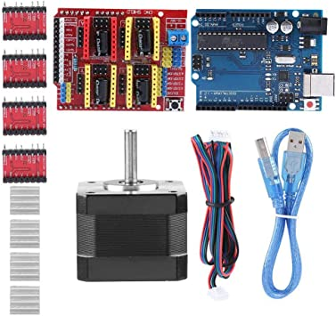 Zerone Kits de Impresora 3D CNC Shield V3.0 + R3 Board + Nema 17 ...