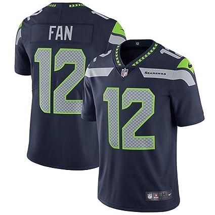 official photos c4eef 98243 Nike Men's 12th Fan Seattle Seahawks Limited Jersey Navy Blue