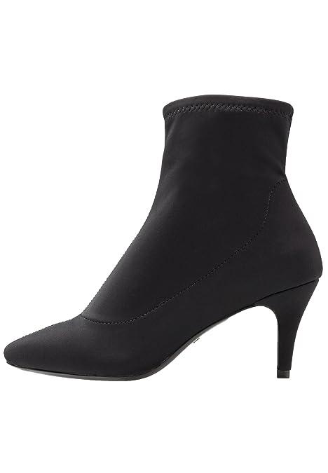 Even&Odd Botines de Mujer - Botas de Tobillo con Tacón Bajo – Ankle Boots de Tela