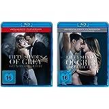 Fifty Shades of Grey - 2 Gefährliche Liebe + 3 Befreite Lust im Set - Deutsche Originalware [2 Blu-rays]