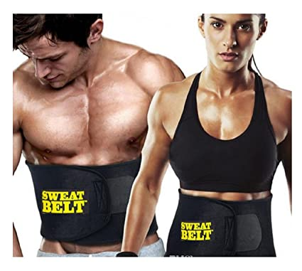 5981b39c48 Buy Sweat Belt Tummy Tucker Wait Trimmer for Gym Exercise and Home use  Online at Low Prices in India - Amazon.in