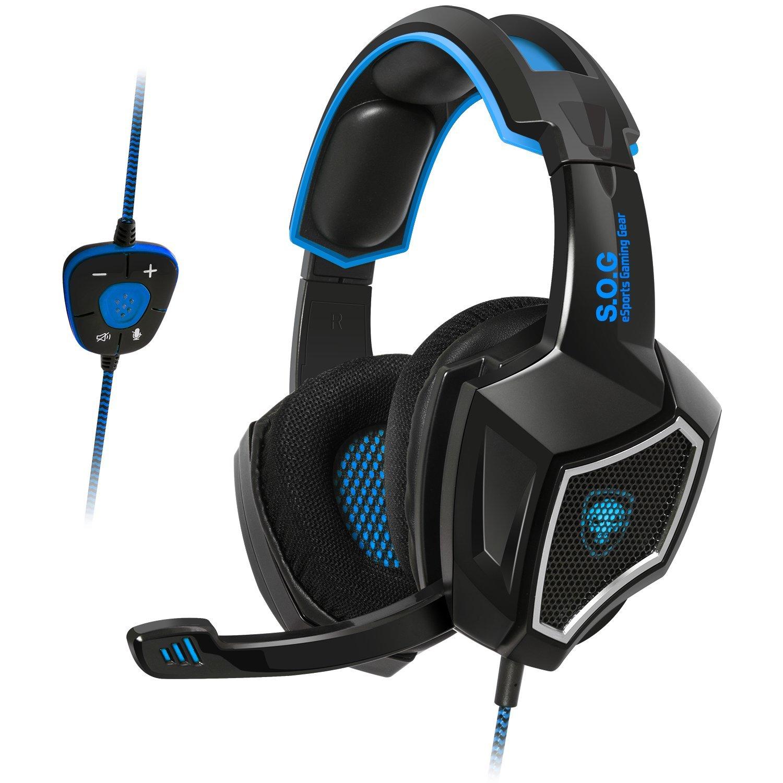 SON SURROUND 7.1 SPIRIT OF GAMER Gaming Headset XPERT-H500 ROUGE Micro r/étractable et Arceau r/églable USB HP 40 mm