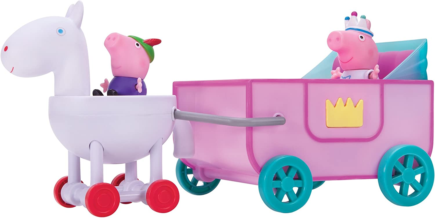 Peppa Pig Peppa Princess Carriage Feature Vehicle