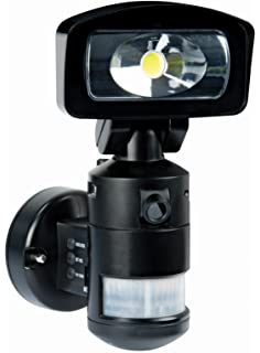 Nightwatcher nw720 robotic led security light with cctv camera nightwatcher ac led 2 gb robotic light hd camera black aloadofball Image collections