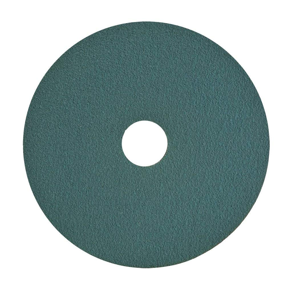 VSM 91604 Resin Fiber Disc, Blue, Coarse Grade, Fiber Backing, Zirconia, 36 Grit, 7'' X 7/8'' Arbor Hole, Pack of 50 (Renewed)