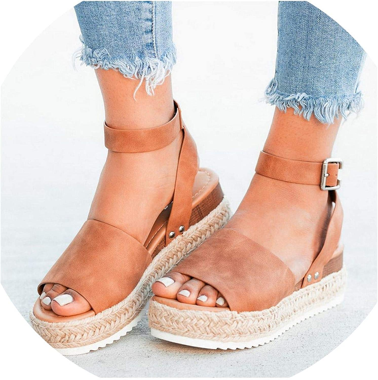 Sandals Women Wedges Shoes Pumps High