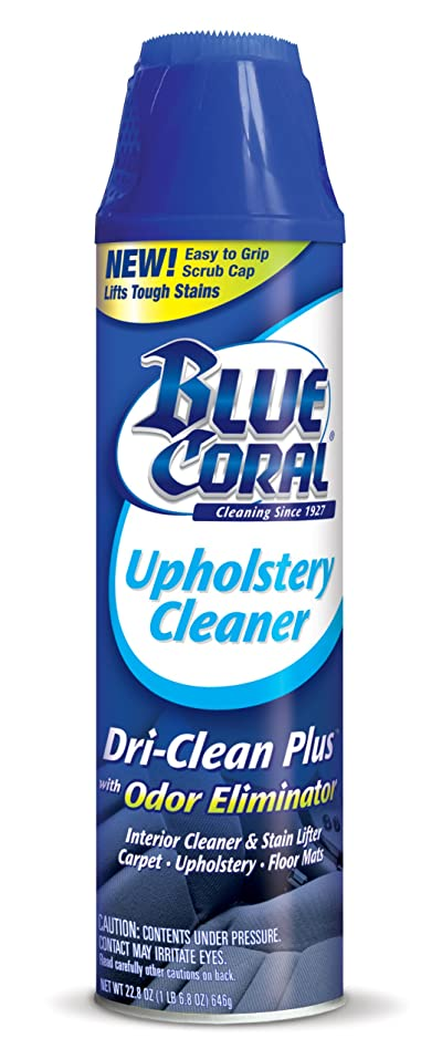 Blue Coral DC22 Upholstery Cleaner Dri-Clean Plus