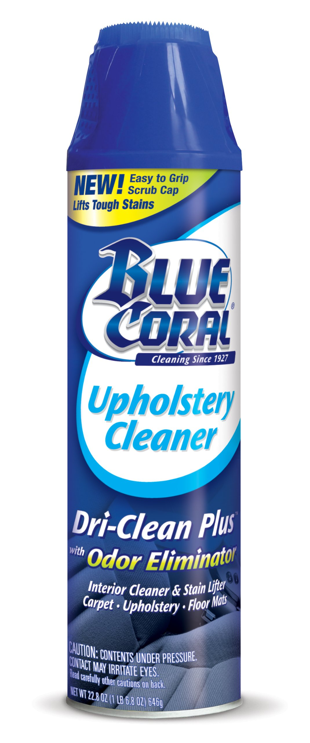 blue coral dc22 upholstery cleaner dri clean plus with odor eliminator 22 8 o chickadee. Black Bedroom Furniture Sets. Home Design Ideas