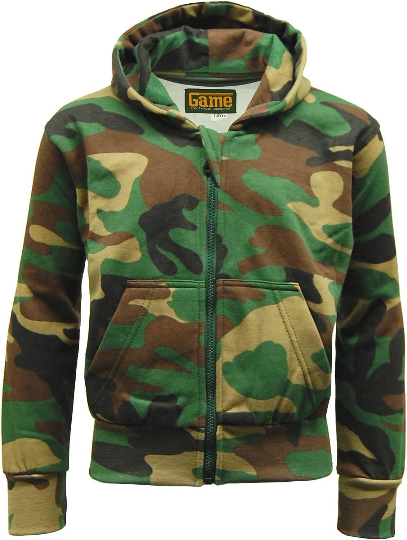 Kids Game Army Camo Camouflage Woodland Fleece Tracksuit Hoodie//Joggers