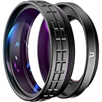 Ulanzi WL-1 Macro Lens Wide Angle Adapter Ring, 2-in-1, 52mm fit for Sony ZV1 Camera Photography Accessories, Lens for…