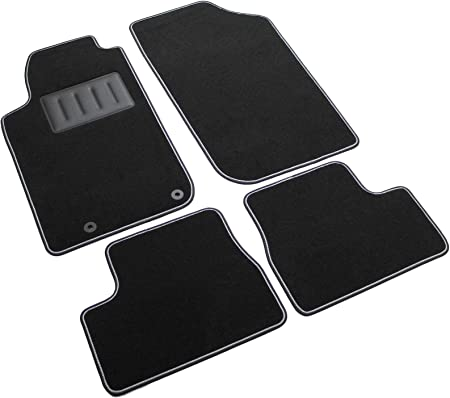 iltappetoauto by fabbri 3 sprint03501 tapis de voiture sur mesure en moquette noire compatible avec peugeot 206