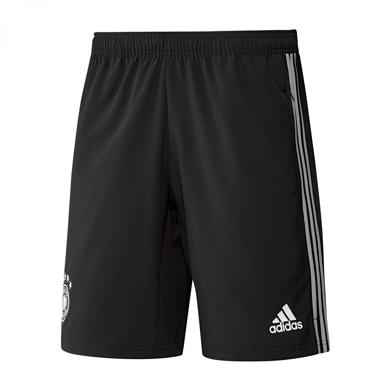 2018-2019 Germany Adidas Woven Shorts (Black) B0779CX8MDBlack XS 30\