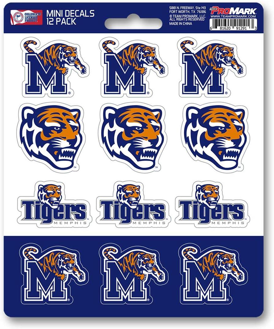 FANMATS University of Memphis 12 Count Mini Decal Pack