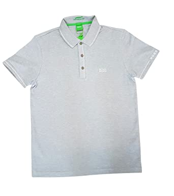 d3fd4677 Hugo Boss Polo Shirt Mens Paule White Slim Fit: Amazon.co.uk: Clothing