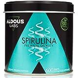 Espirulina Ecológica Premium para 9 Meses | 600 comprimidos de 500mg con 99% BIO Spirulina | Vegano - Saciante - DETOX…