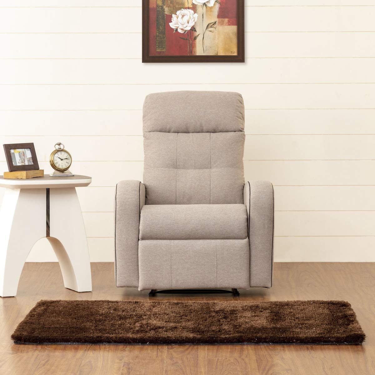 5.Home Centre Toledo Single Recliner Sofa