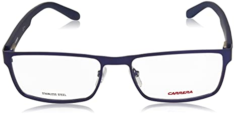 Carrera 6656 Eyeglass Frames CA6656-0TRO-5417 - Matte Blue Frame ... 0d0bc8cb50b