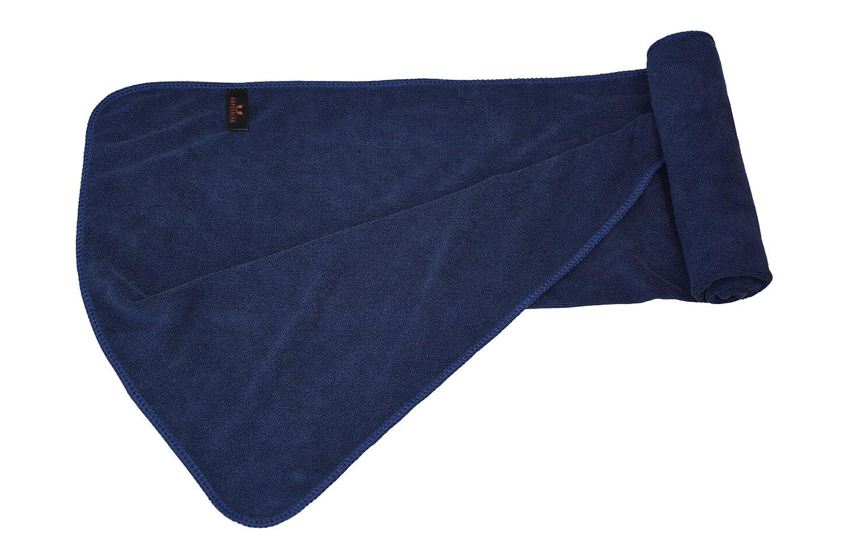 Hope Shine juego de toallas gimnasio microfibra secado rápido toallas deportivas suaves Paquete de 3, 40cm X80cm (Navy blau X3): Amazon.es: Deportes y aire ...