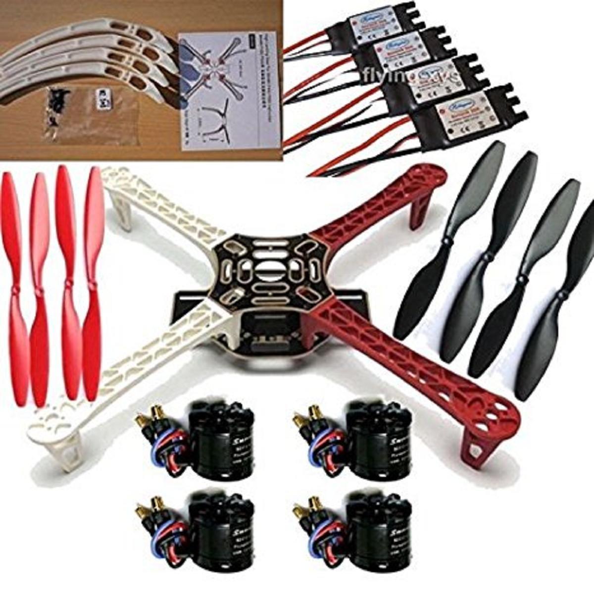 国内初の直営店 DIY Flamewheel F450 クワッドコプター対応キット X2212 フレームキット& Sunnysky 30A X2212 B01AABWVKA 980KVブラシレスモーター&SimonK 30A ESC (フレームキット&980KVモーター&30A ESC) フレームキット&980KVモーター&30A ESC B01AABWVKA, 釣具の三平:f7ce1ea5 --- diceanalytics.pk