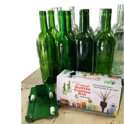 Wine Bottle Cutter Tool for Glass Cutting - Wine Bottle Cutter Kit to Make Glasses