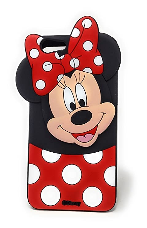 sale retailer f3943 69060 Hola online 3D Design Minnie Back Rubber Cover for Vivo Y55, Y55s