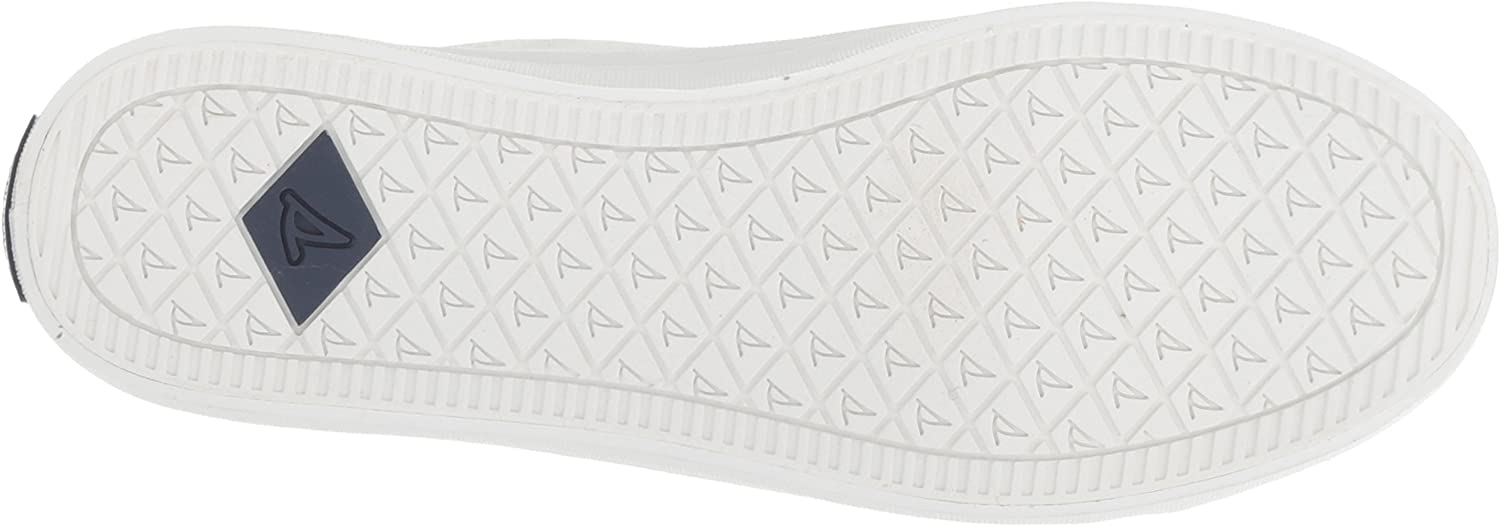 Sperry Women's Crest Vibe Satin Lace Sneaker White
