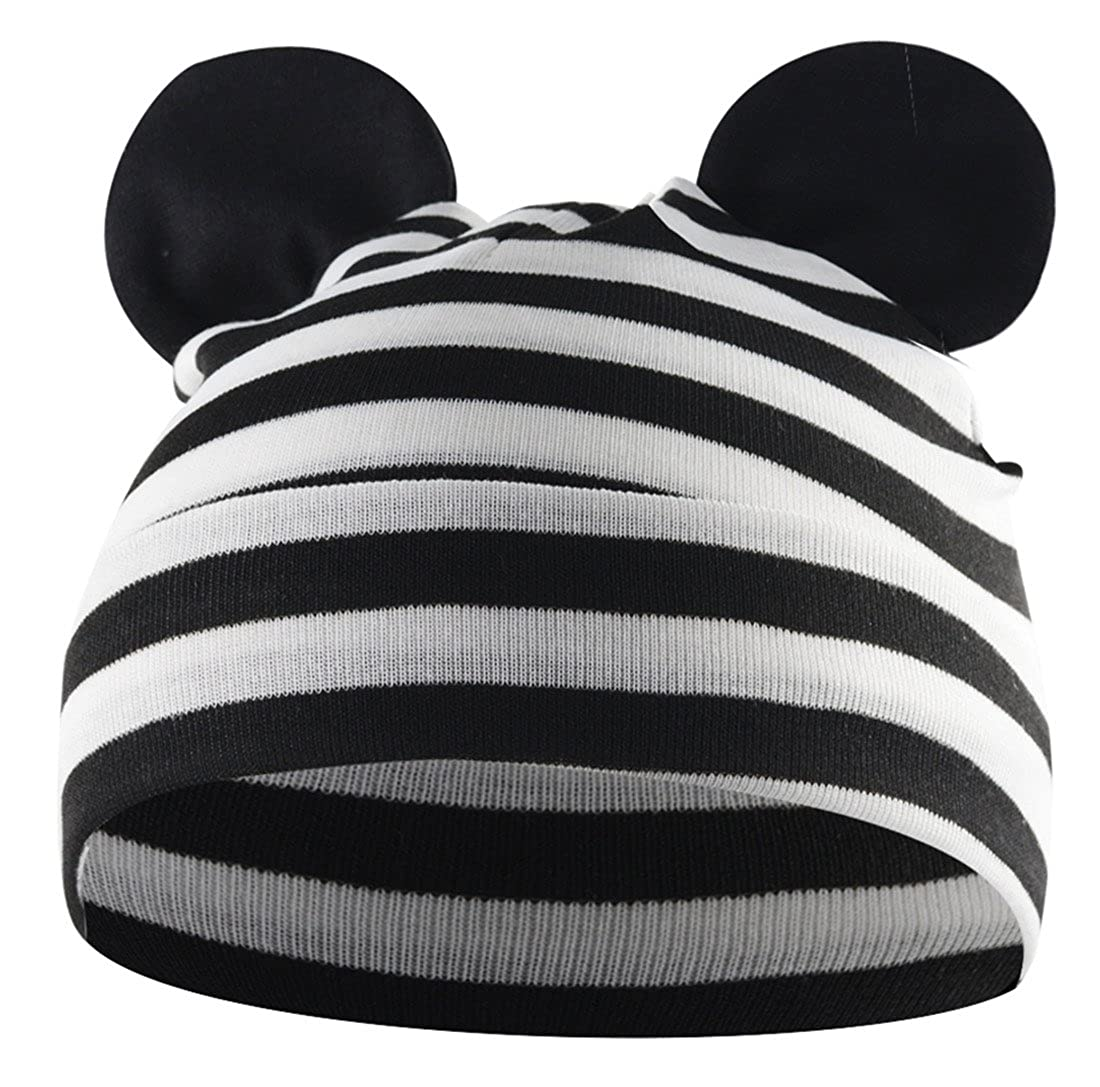 American Trends Toddler Infant Baby Hat Stretchy Kids Beanies Boy//Girl Kawaii Newborn Funky Patchwork Solid Outdoor Earflap Caps