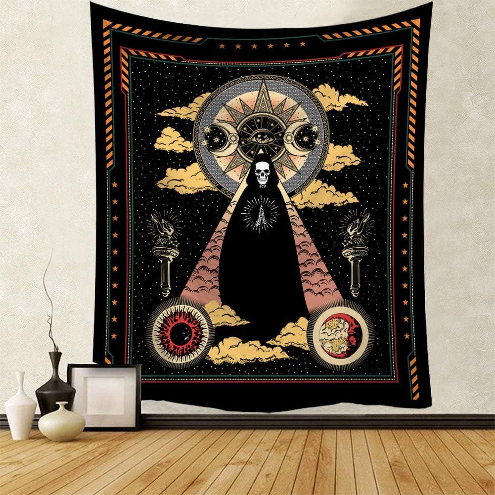 tovaglia telo da appendere al muro con mandala in stile Boho decorazione telo per picnic copriletto rosso mandala da usare anche come lenzuolo fatto a mano cotone stampato