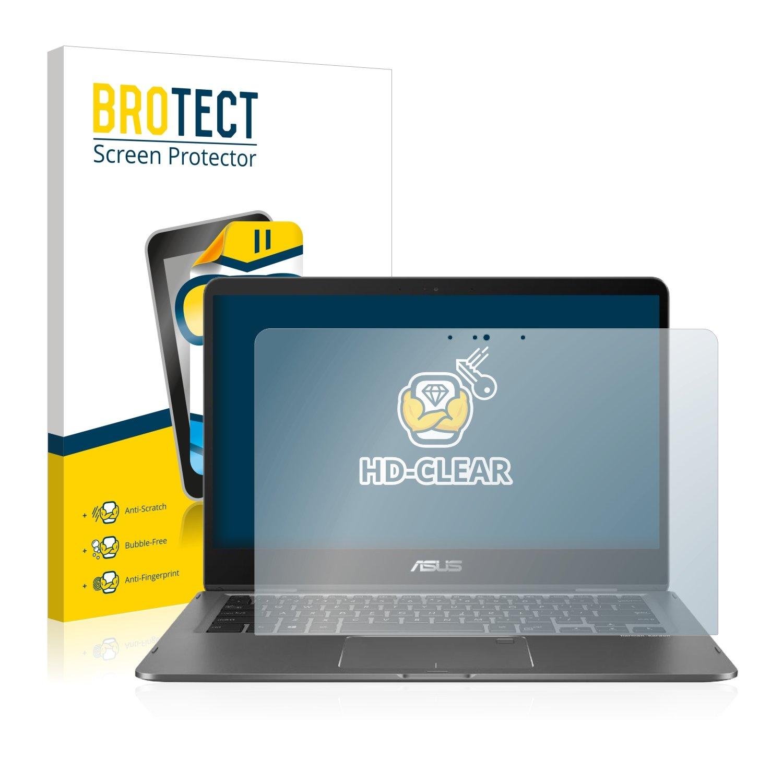 klarer Displayschutz BROTECT Schutzfolie kompatibel mit Asus Zenbook Flip 14 UX461UN