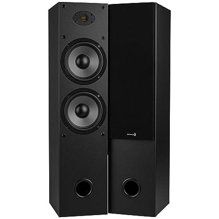 "Review Dayton Audio T652-AIR Dual 6-1/2"" 2-Way Tower Speaker Pair with AMT Tweeter"