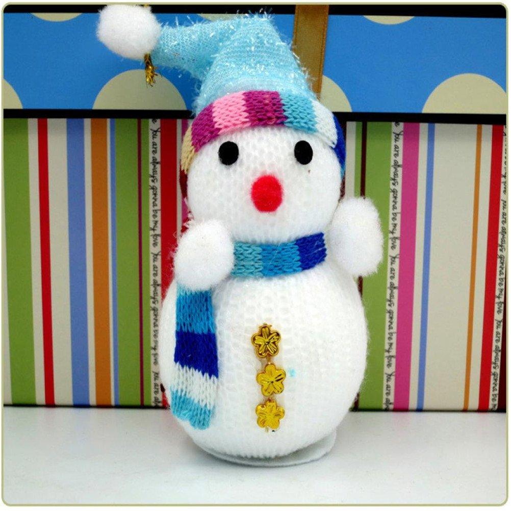 Amazon.com: ELaco 3pcs Christmas Snowman Ornaments Party Xmas Tree Hanging Decoration (B): Home & Kitchen