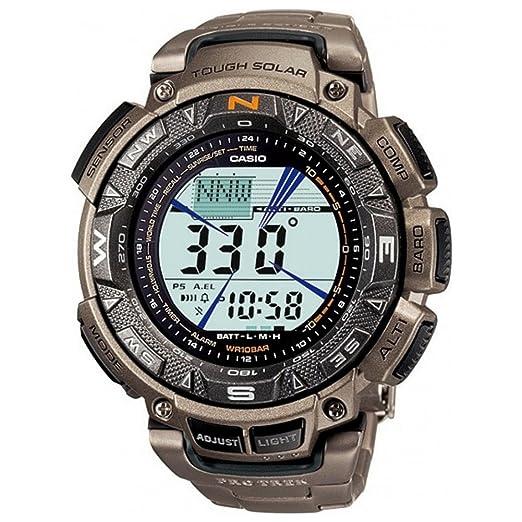 0cdd4552330c Reloj Casio Pro Trek para Hombre PRG-240T-7ER  Amazon.es  Relojes