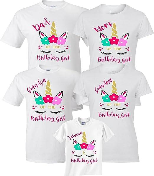 Amazon.com: Camiseta de cumpleaños personalizada con diseño ...