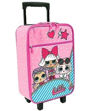 LOL Surprise b98400 Maleta para niños, Trolley de Cabina, 53 centímetros, 25 L: Amazon.es: Equipaje